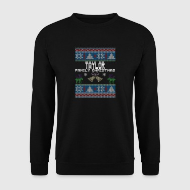 Ugly Taylor Christmas Family Vacation Tshirt - Bluza męska