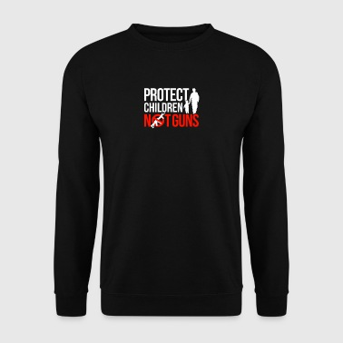 Anti Gun shirt de protestation - Sweat-shirt Homme
