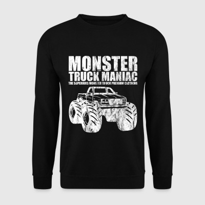 Ordnede ™ - monster truck galning - Shirt Design - Genser for menn