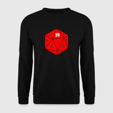 D20 cubes - Men's Sweatshirt