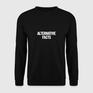 Alternative Facts 2 White - Men's Sweatshirt