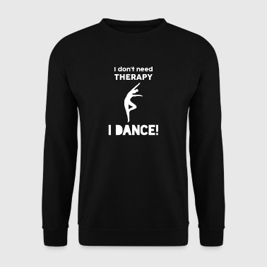 Dancing Sports Modern Dance Therapy Funny gave - Genser for menn