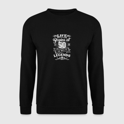 50th birthday gift - born in 1968 - Men's Sweatshirt