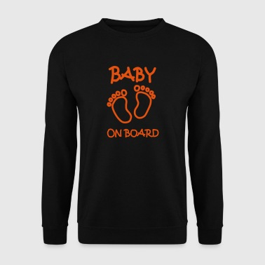 Bébé à bord - Sweat-shirt Homme