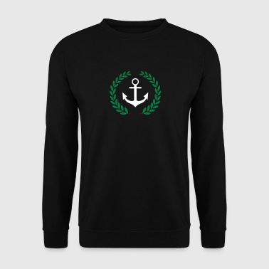 Anchor and crown - Men's Sweatshirt