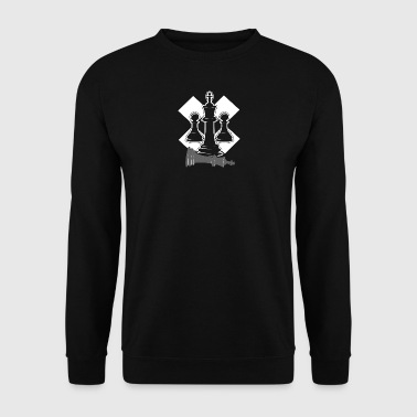 Chess - Chess figures - Men's Sweatshirt