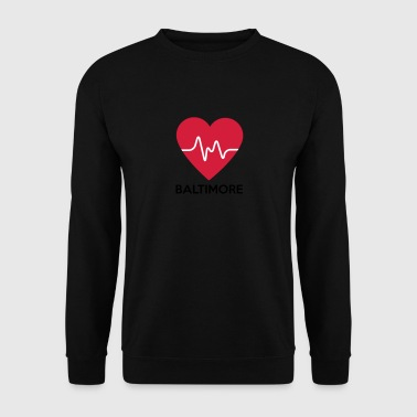 coeur Baltimore - Sweat-shirt Homme