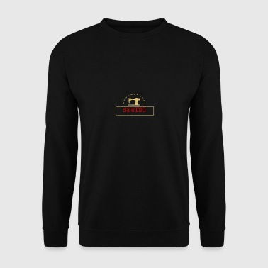 couture design machine - Sweat-shirt Homme
