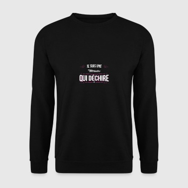une Veterinaire qui dechire - Sweat-shirt Homme