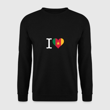 J'adore le Cameroun - Sweat-shirt Homme