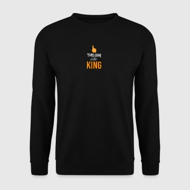 This guy is the king - Men's Sweatshirt