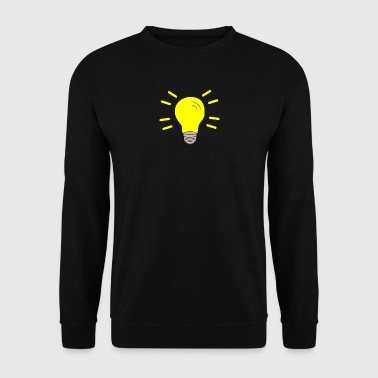 Light bulb switched on - Men's Sweatshirt