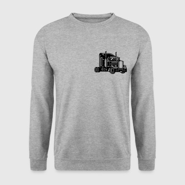 Un camion  - Sweat-shirt Homme