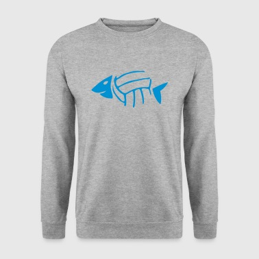 volley waterpolo arete poisson fish ball Sweat-shirts - Sweat-shirt Homme