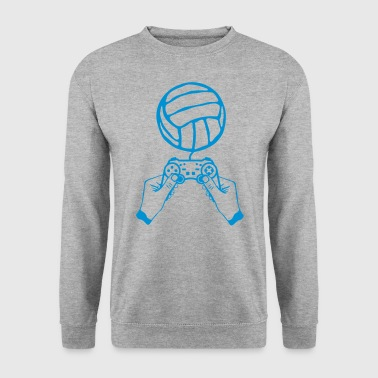 volleyball manette jeux main paddle - Sweat-shirt Homme
