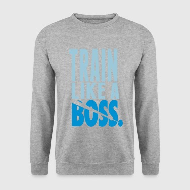 Train Like A Boss - Miesten svetaripaita