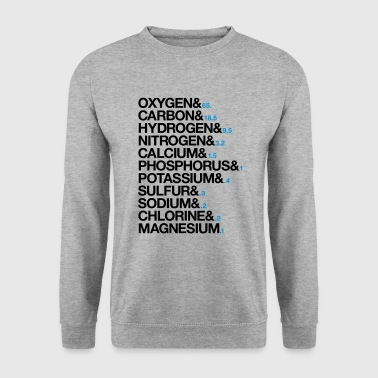 Elements of human body - Men's Sweatshirt