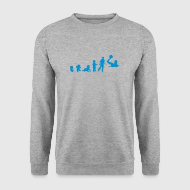 evolution waterpolo foetus human humain  - Sweat-shirt Homme