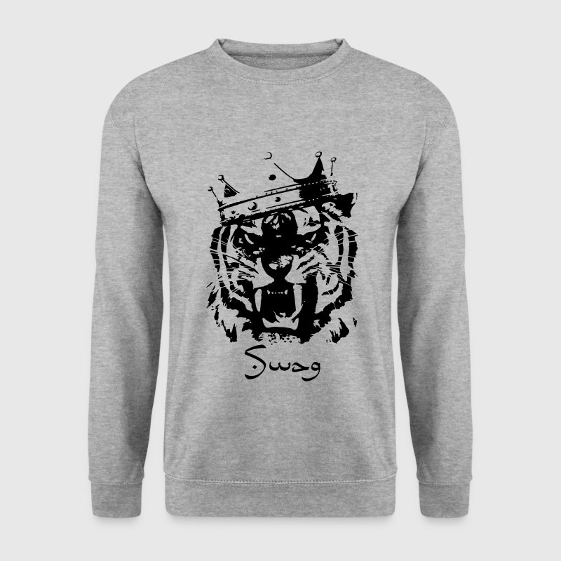 Swag tiger - Sweat-shirt Homme