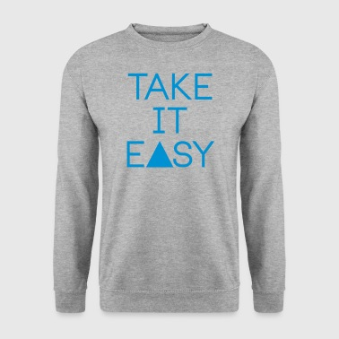 take it easy - Bluza męska
