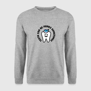 funny tooth - Sweat-shirt Homme