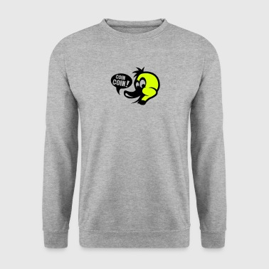 canard coin coin dessin - Sweat-shirt Homme