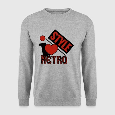 Style Rétro style - Sweat-shirt Homme