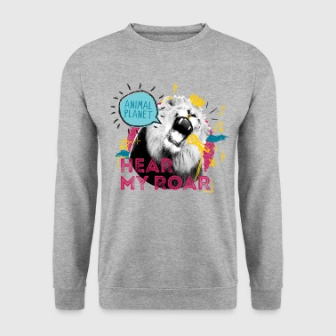 Animal Planet Löwe Brüllt Hear My Roar - Männer Pullover