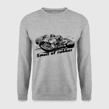 The smell of rubber 2 motorcycle collection - Men's Sweatshirt