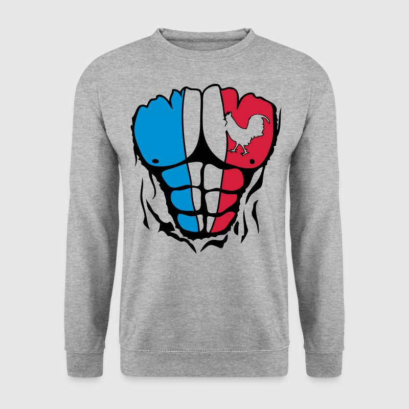 coq france muscle corps bodybuilding dec - Sweat-shirt Homme