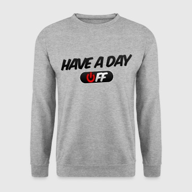 Arm Have a day off round neck jumper - Men's Sweatshirt