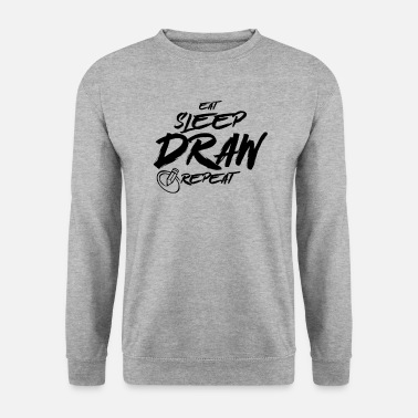 Drawing Drawing Drawing Draftsman Drawing Drawing - Men's Sweatshirt