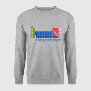 Periodensystem Periodensystem der Elemente (PSE) Periodic Table of the Elements - Männer Pullover