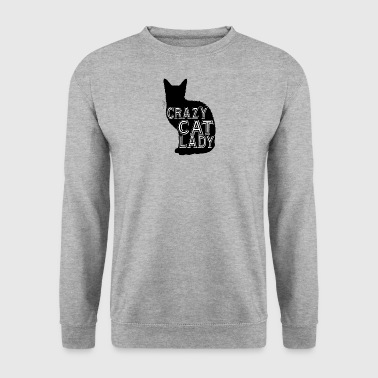 Crazy Cat Lady cat Crazy cat lady - Men's Sweatshirt