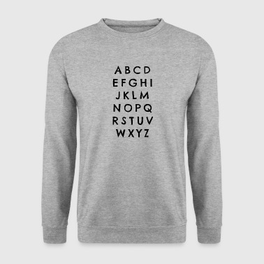 Abc ABC - Men's Sweatshirt