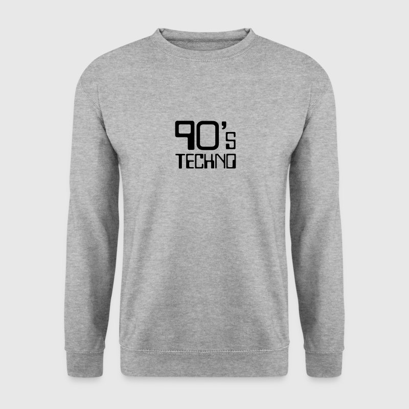 90´s Techno - Sweat-shirt Homme