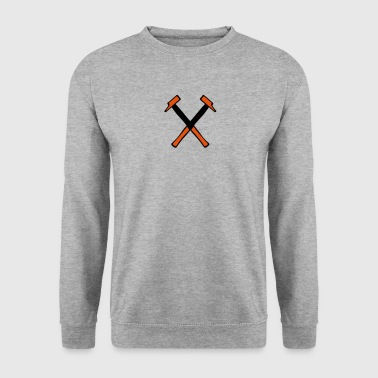 Hammer tools DIY cross 701 - Men's Sweatshirt