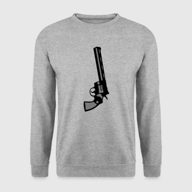 revolver 357 pistolet flingue 212 - Sweat-shirt Homme