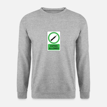 Vaping vaping - Sweat-shirt Homme