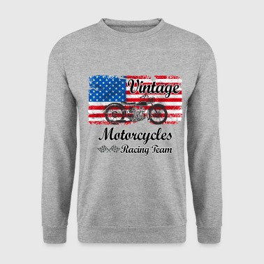 us motorcycles - Sweat-shirt Homme