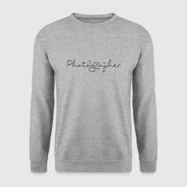 I am a Photographer - Sweat-shirt Homme