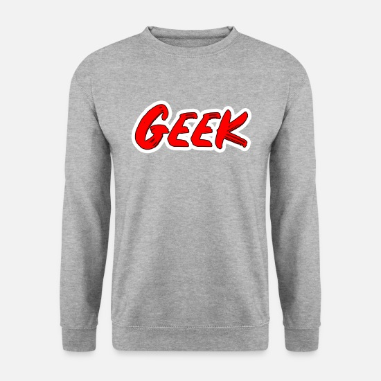 Computer Art Hoodies & Sweatshirts - Geek - Men's Sweatshirt salt & pepper