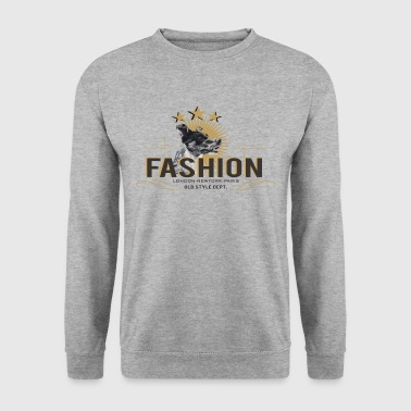 fashion-dog-oldstyle - Men's Sweatshirt