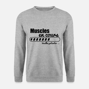 Musculation muscles en cours musculation muscu - Sweat-shirt Homme