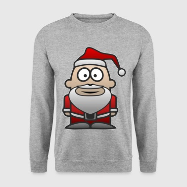 Father Christmas Santa St.Nick - Men's Sweatshirt