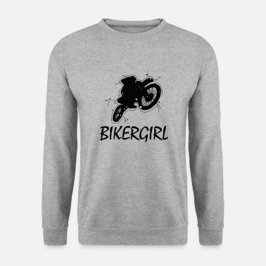 Conduire Biker fille - Sweat-shirt Homme
