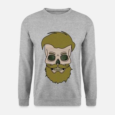 Mortvivant Beardy Skull - Sweat-shirt Homme