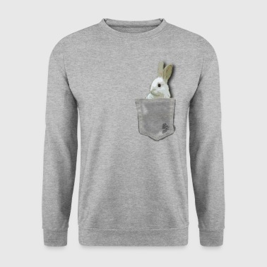 pocket rabit by customstyle - Sweat-shirt Homme