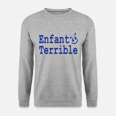 Enfant enfant terrible - Sweat-shirt Homme