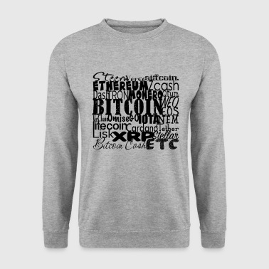 Cryptocurrencies - Men's Sweatshirt